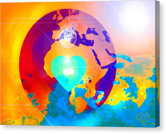 Earth Changes Canvas Print