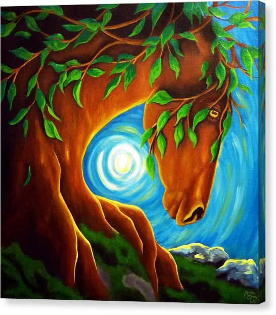 Earth Elder Canvas Print
