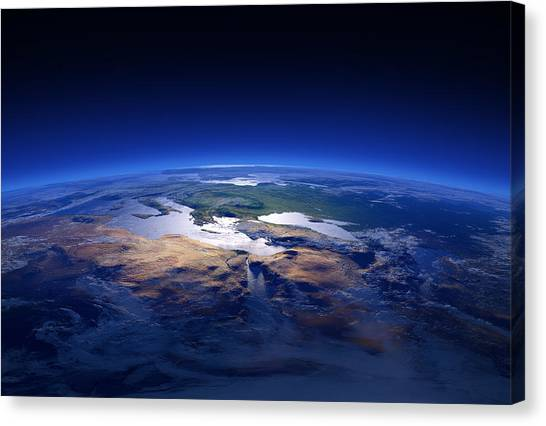 Iranian Canvas Print - Earth - Mediterranean Countries by Johan Swanepoel