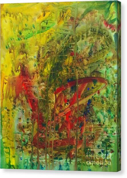 Earth Print Canvas Print