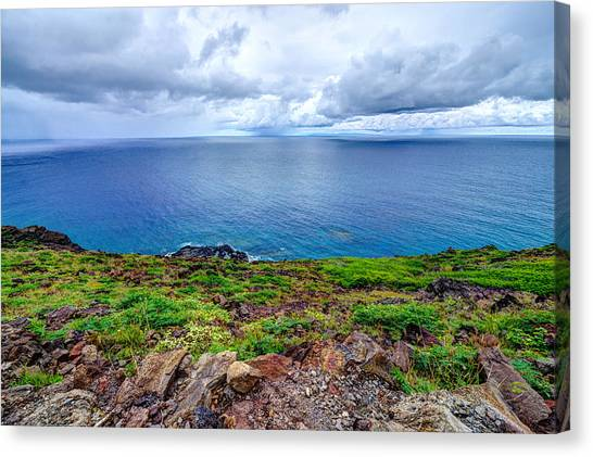 Earth Sea Sky Canvas Print