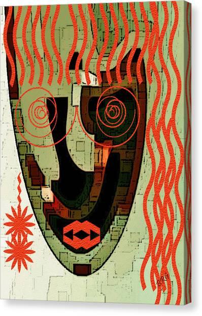 Earthy Woman Canvas Print