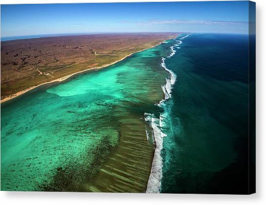 East And West Ningaloo Canvas Print by Migration Media - Underwater Imaging