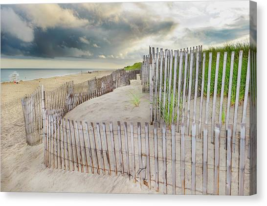 East Hampton Beach, Long Island, New Canvas Print