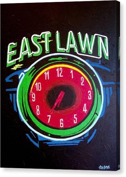 East Lawn Canvas Print by Paul Guyer