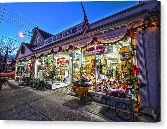 East Moriches Hardware Canvas Print