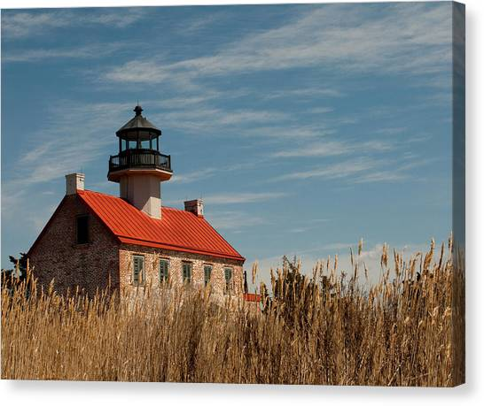 East Point Across The Marsh Canvas Print