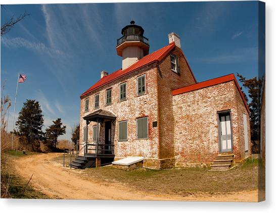 East Point In Spring Canvas Print