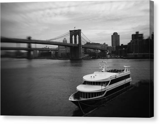 East River Afternoon Canvas Print by Ben Shields