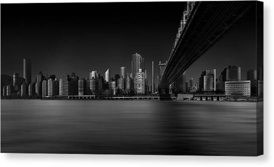 Manhattan Canvas Print - East Side by Louis-philippe Provost