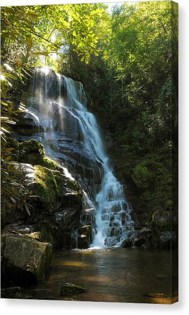 Eastatoe Falls North Carolina Canvas Print