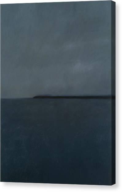 Murky Canvas Print - Eastbourne by Alessandro Raho