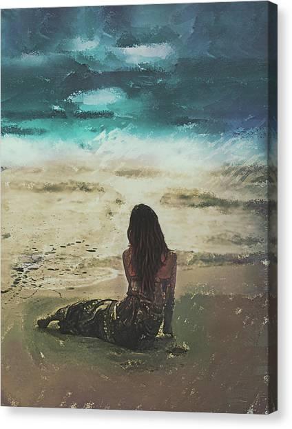 Eastcoast Canvas Print