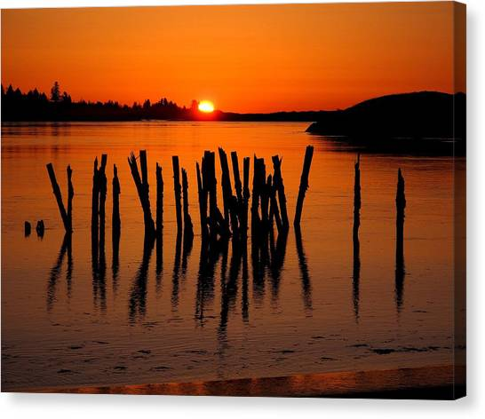 Easter At Popham Canvas Print