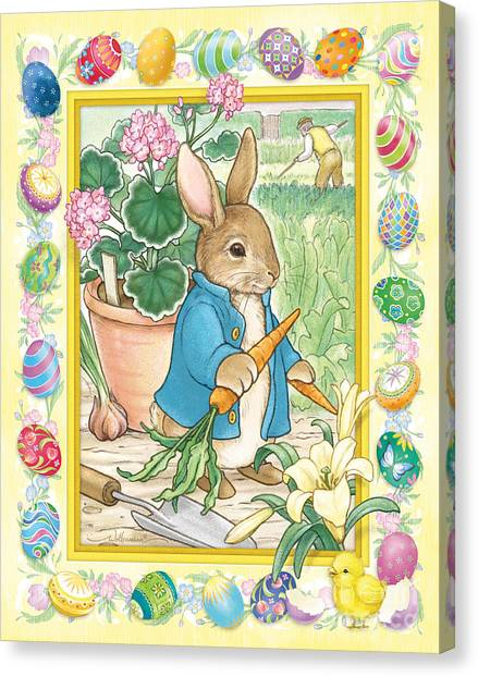 Easter Bunny Canvas Print