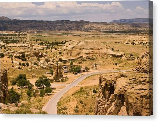 Eastern Mesa View Canvas Print