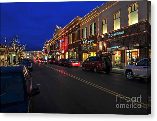 D65l-123 Easton Town Center Photo Canvas Print