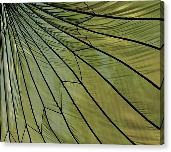 Easy- Breezy- Parachute Canvas Print