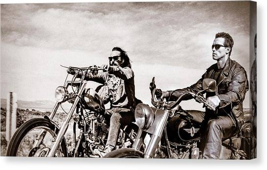 Star Wars Canvas Print - Easy Riders  by Tony Leone