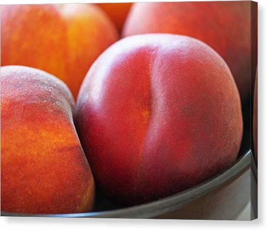 Canvas Print - Eat A Peach by Rona Black