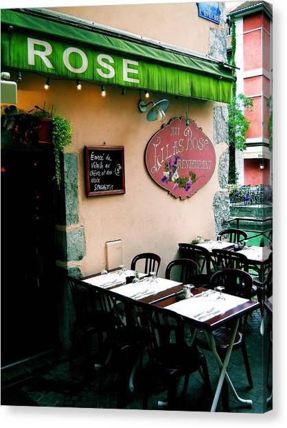 Eatery 1 Canvas Print