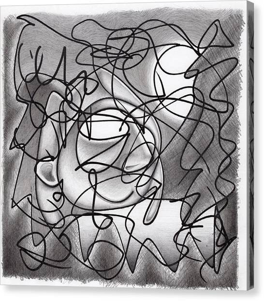 Eavesdropping Canvas Print