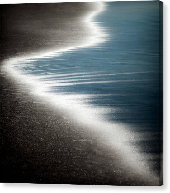 Fluids Canvas Print - Ebb And Flow by Dave Bowman
