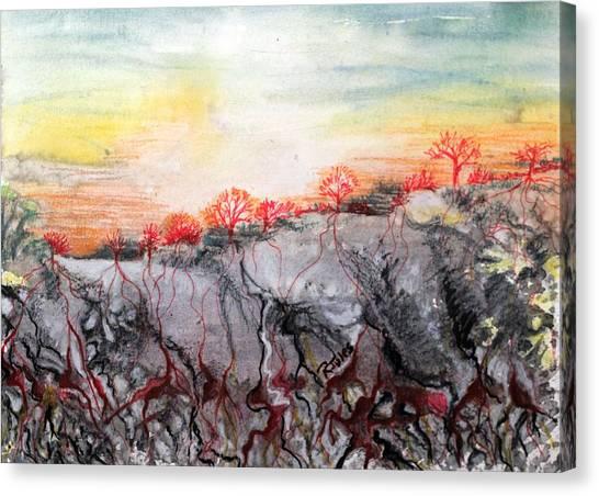 Ebb Of Life Canvas Print