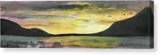 Ebb Of Sol Canvas Print