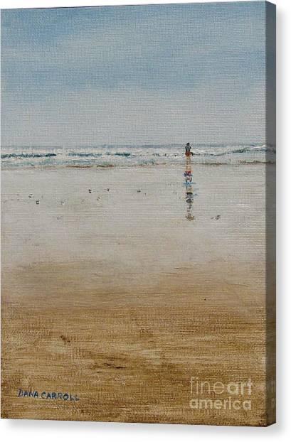 Ebb Tide Canvas Print by Dana Carroll