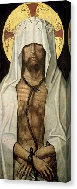 Shrouds Canvas Print - Ecce Homo by Portuguese School