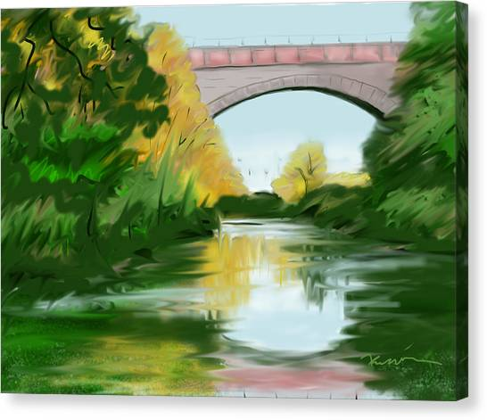 Echo Bridge Canvas Print