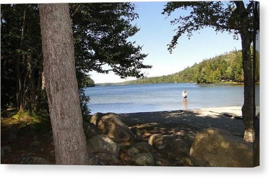 Echo Lake Canvas Print