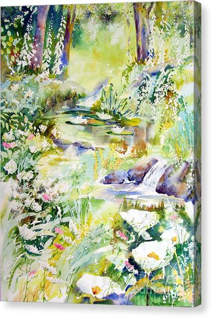 Echo Of Spring Canvas Print
