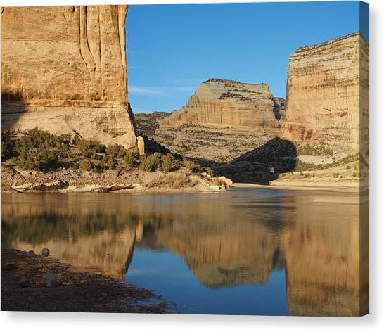 Echo Park In Dinosaur National Monument Canvas Print