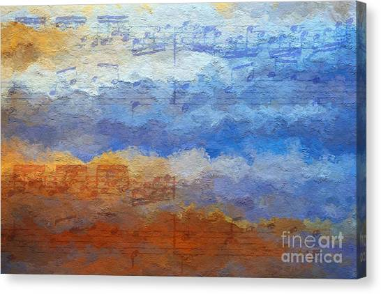Echoes Of Earth And Sky Canvas Print