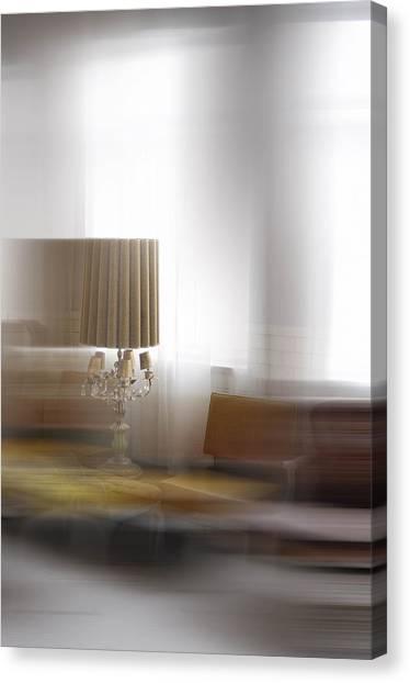 Eclectic Blur Canvas Print