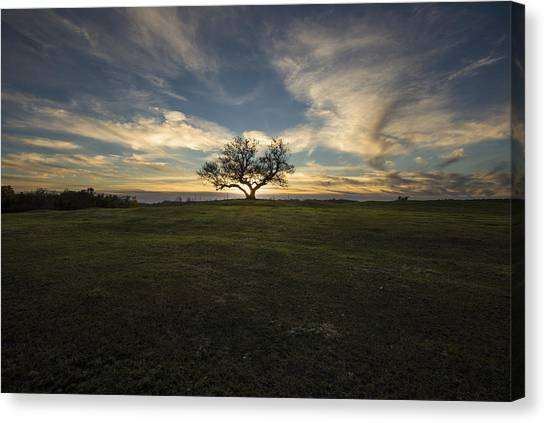 Solar Eclipse Canvas Print - Eclipsed by Aaron J Groen