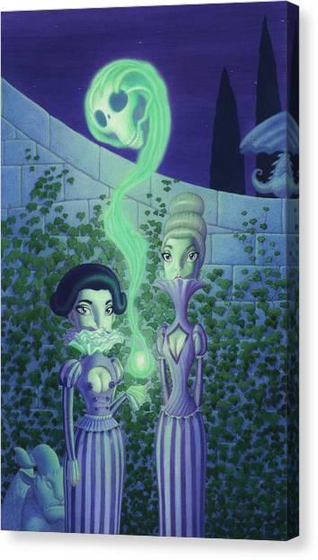 Ectoplasm Canvas Print