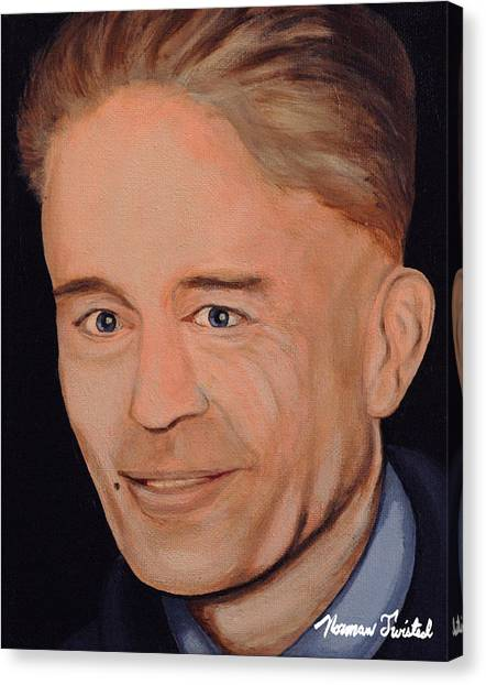 Silence Of The Lambs Canvas Print - Ed Gein by Norman Twisted