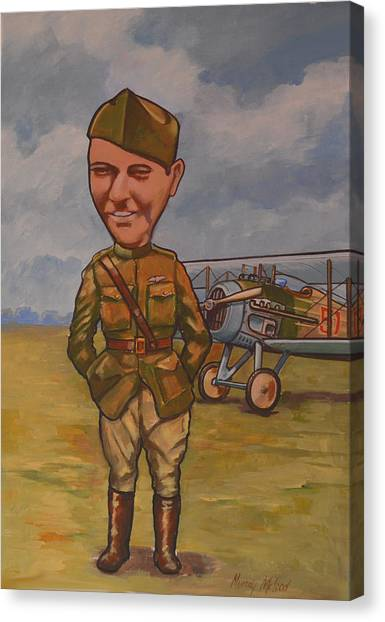 Eddie Rickenbacker Canvas Print