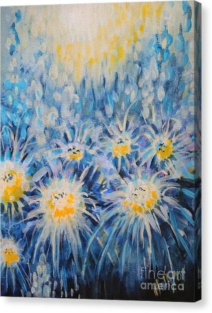 Edentian Garden Canvas Print