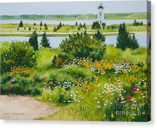 Edgartown Light Canvas Print