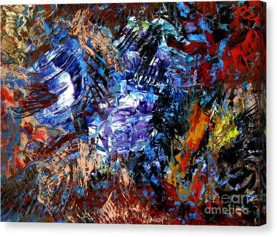 Edge Canvas Print by Danya Hammoudi