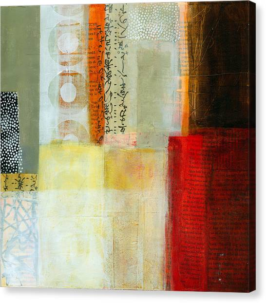 Grid Canvas Print - Edge Location 7 by Jane Davies