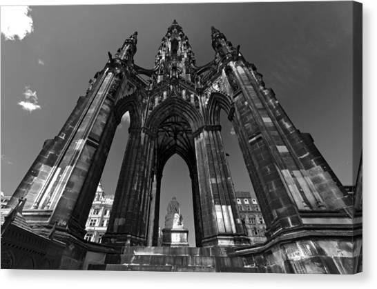 Edinburgh's Scott Monument Canvas Print