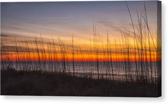Edisto Beach Sunrise 02 Canvas Print