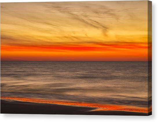 Edisto Beach Sunrise 07 Canvas Print
