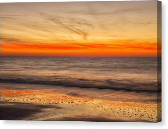 Edisto Beach Sunrise 10 Canvas Print