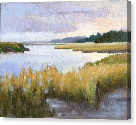 Marshes Canvas Print - Edisto Study 14 by Todd Baxter
